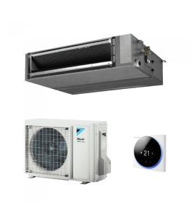 Aparat de aer conditionat tip duct Daikin SkyAir Alpha-series Bluevolution FDXM35F9-RZAG35A Inverter 12000 BTU